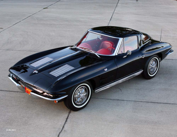 63 Split Window Corvette >> HIGGINBOTHAM INVESTMENT COMPANY - 1963 Corvette 'Split Window'